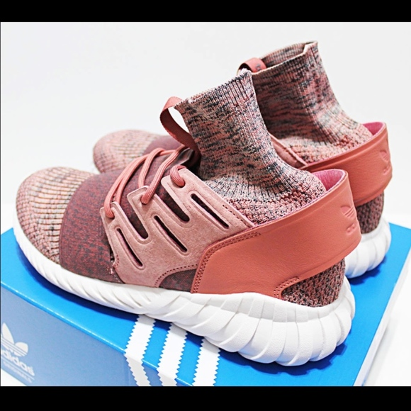 sale retailer b448f aeced ADIDAS TUBULAR DOOM PRIMEKNIT RAW-PINK 11.5 MEN S. NWT